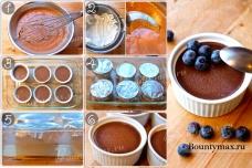 Десертный шоколадный крем