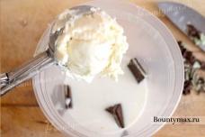 Мятный молочный коктейль с шоколадом