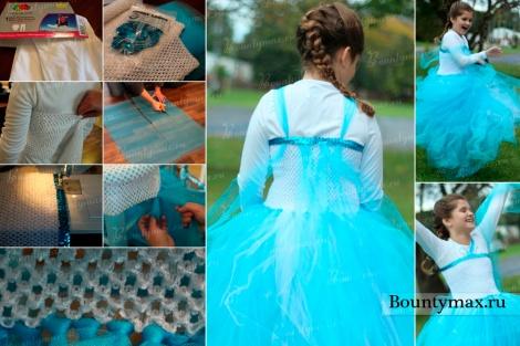 """Как сделать костюм Эльзы из """"Холодного сердца"""" своими руками?"""