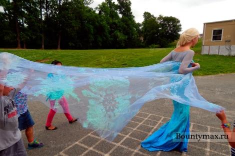 Как сшить взрослый костюм Эльзы из холодного сердца своими руками