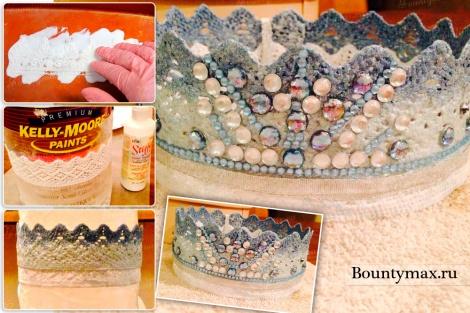 Как сделать корону снежной королевы Эльзы из холодного сердца своими руками