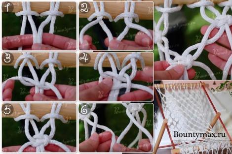 Как связать гамак своими руками