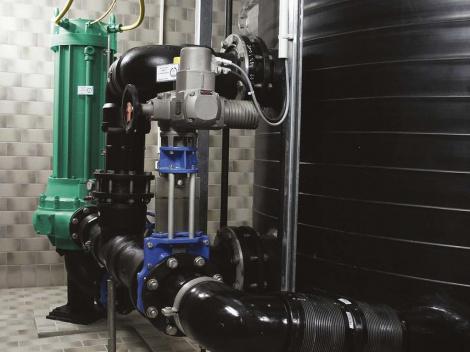 Поддержка вакуума в насосных агрегатах