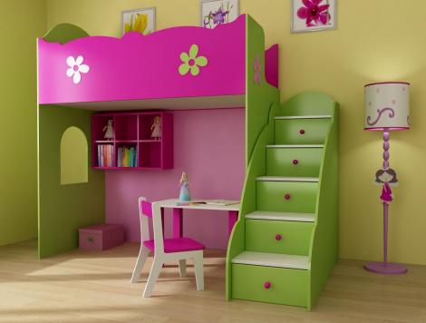 Модульная мебель в детскую комнату. Почему это хороший выбор?