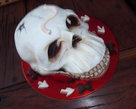 Хэллоуин прошел, а сладкое осталось: самые жуткие торты в мире
