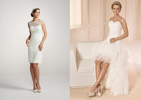 Фасоны свадебных платьев - в каком платье на свадьбу?