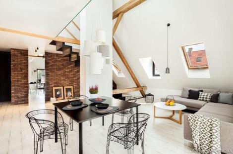 Двухуровневое жилье - как сделать ремонт квартиры под ключ