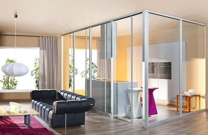 Раздвижные стены в квартире - функциональность и дизайн